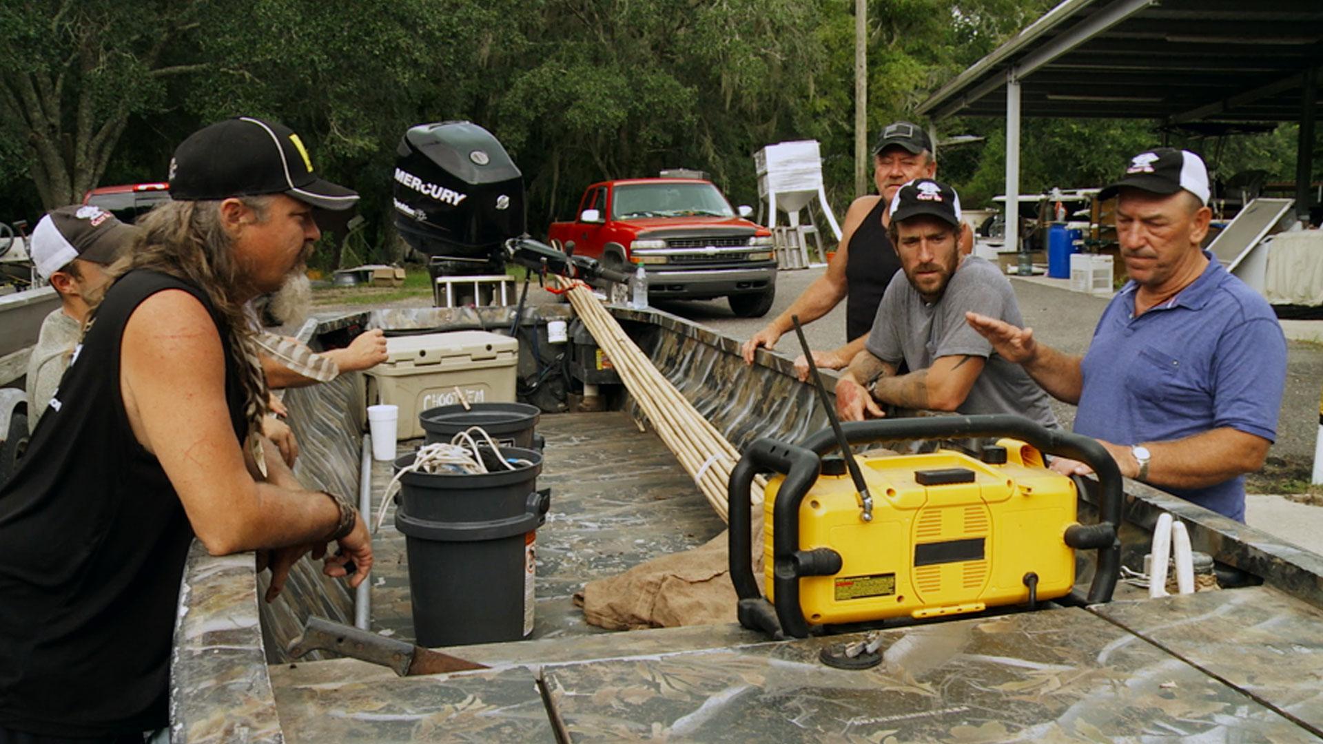 Swamp People : Cajun Cyclone