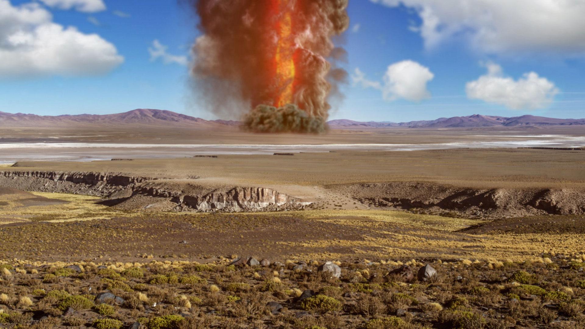 Mega Eruption